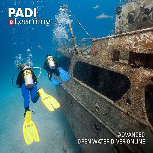 PADI Advanced Open Water eLearning only