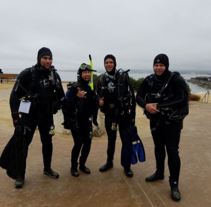 2 Guided Dives/Cold Water Conversion Dives