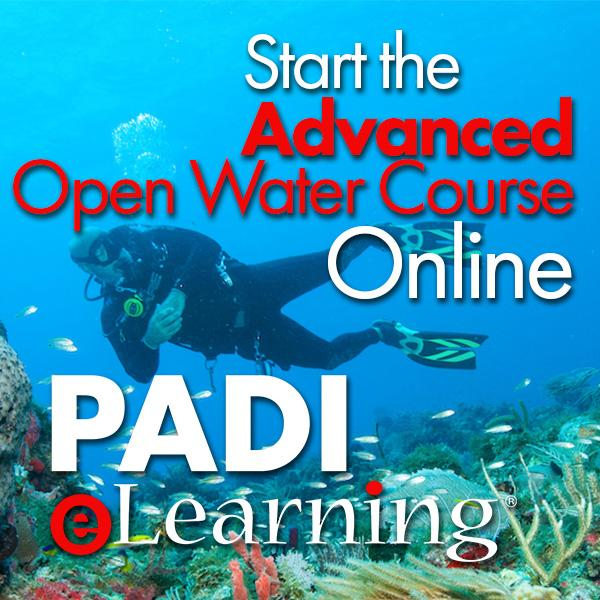 PADI Advanced Open Water Diver eLearning Access
