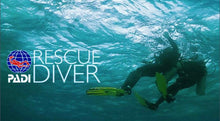 PADI Rescue Diver Course Tuition including eLearning.