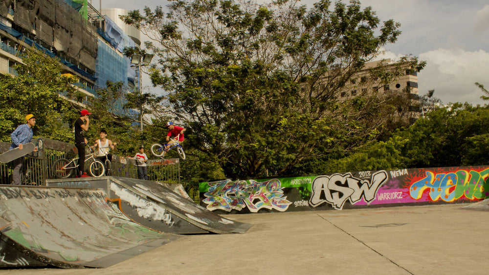 Somerset Skatepark in Singapore