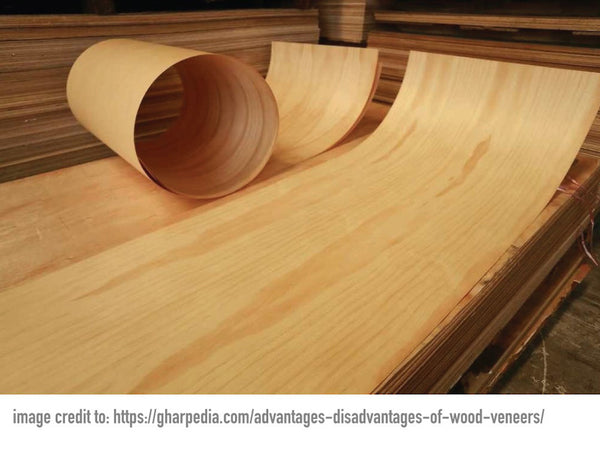 The strength of a skateboard deck comes from crossing the veneers.