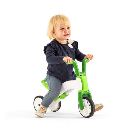 Chillafish Bunzi Gradual Balance Bike in 3 wheel balance trike mode