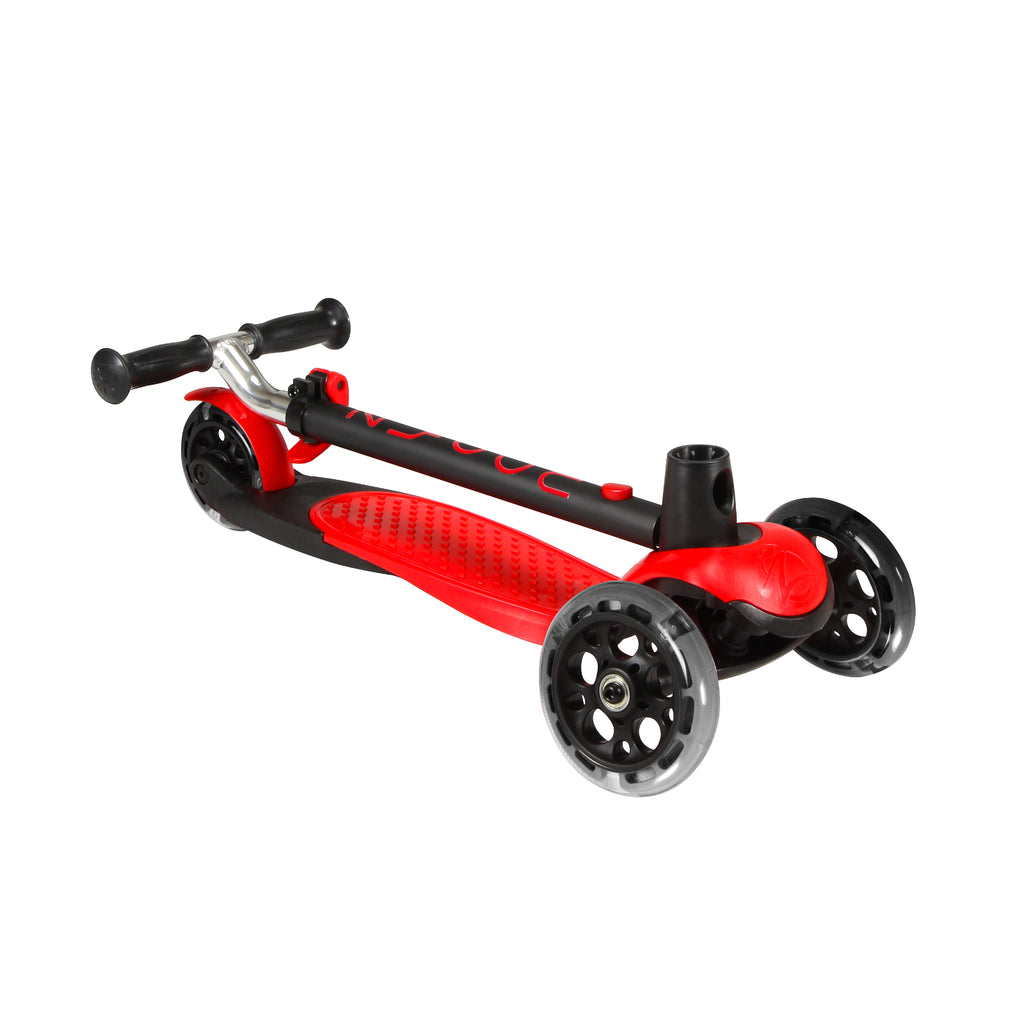Zycom Zing Kids Scooter with Light Up Wheels - Red/Black - Pumpanickel