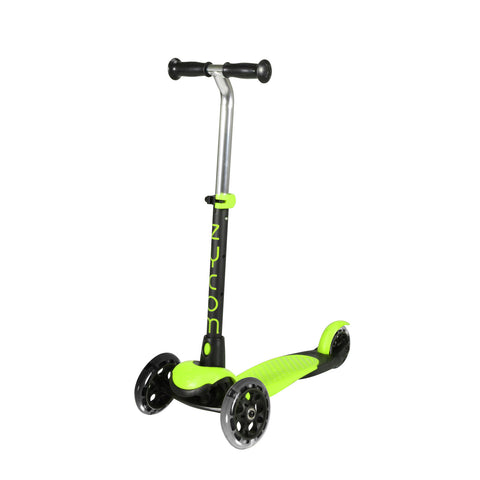 Zycom Zing Scooter with Light Up Wheels - Green/Black