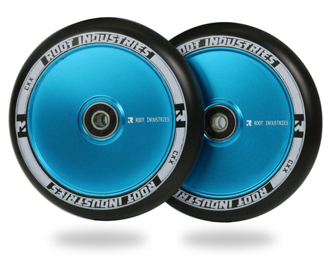 Root AIR Wheels for freestyle stunt scooters - 110mm sky blue
