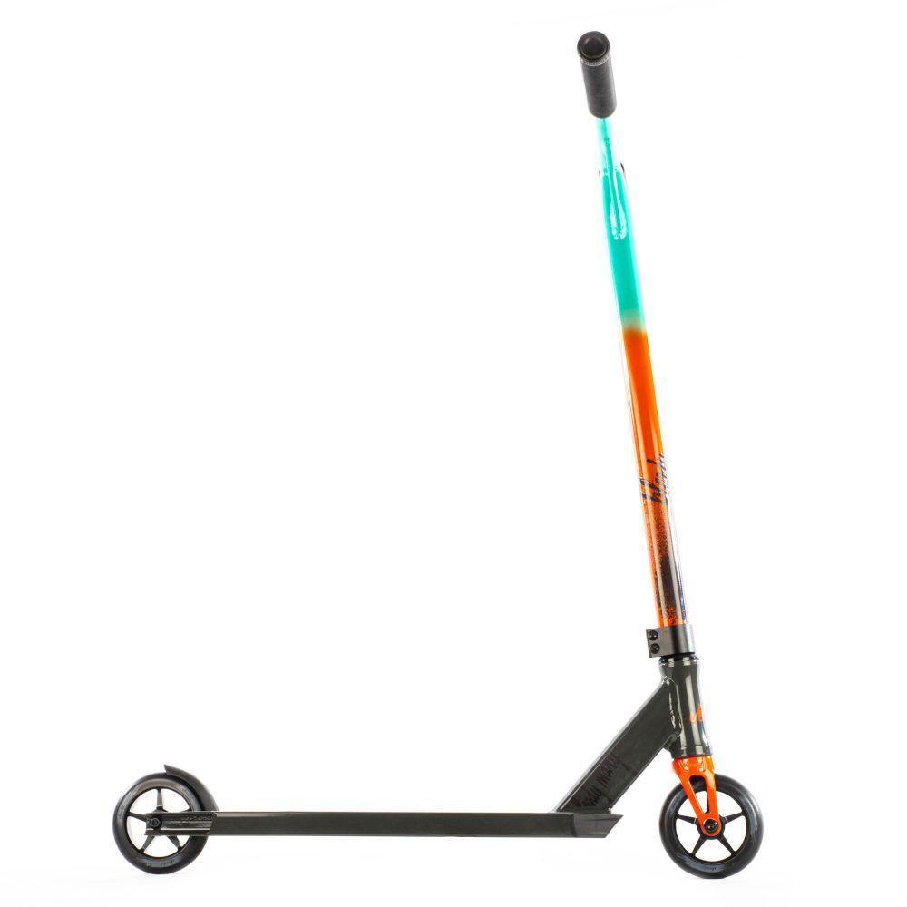 Pumpanickel Sports Shop. Versatyl Bloody Mary V2 Complete Stunt Scooter Orange Blue Black For Young Beginners. Buy trick scooter online Singapore