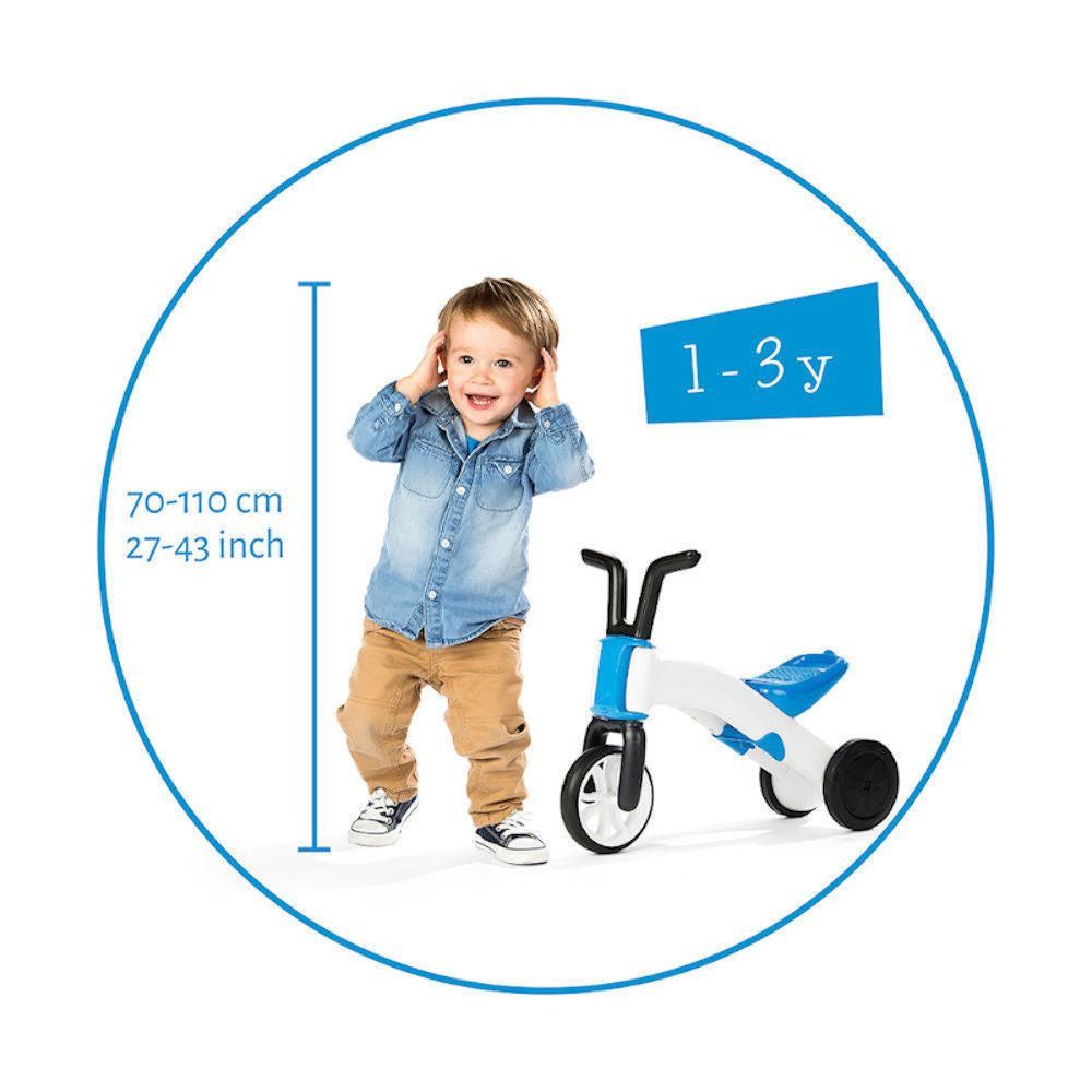 Chillafish Bunzi 2-in-1 Gradual Balance Bike Blue. Shop Chillafish Bunzi Singapore | Pumpanickel