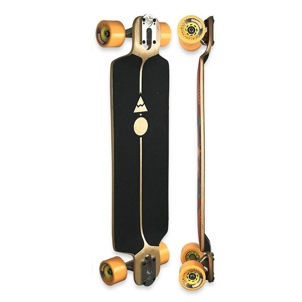 Pumpanickel Shop Pantheon Trip Complete Cruiser Longboard - Indian Hills Graphic