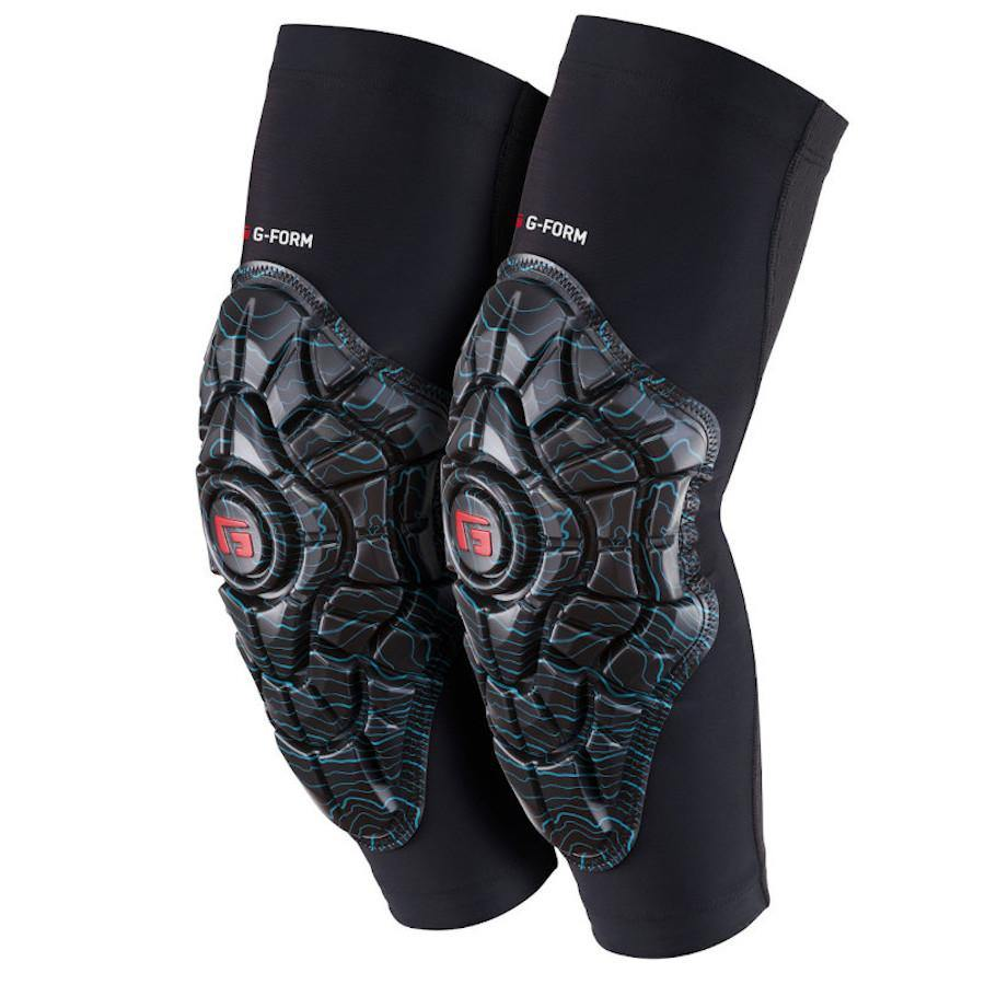 Pumpanickel Sports Shop G-Form Elite Elbow Guards are breathable, lightweight and perfect for all day riding or race day performance. Teal Topo G Embosses