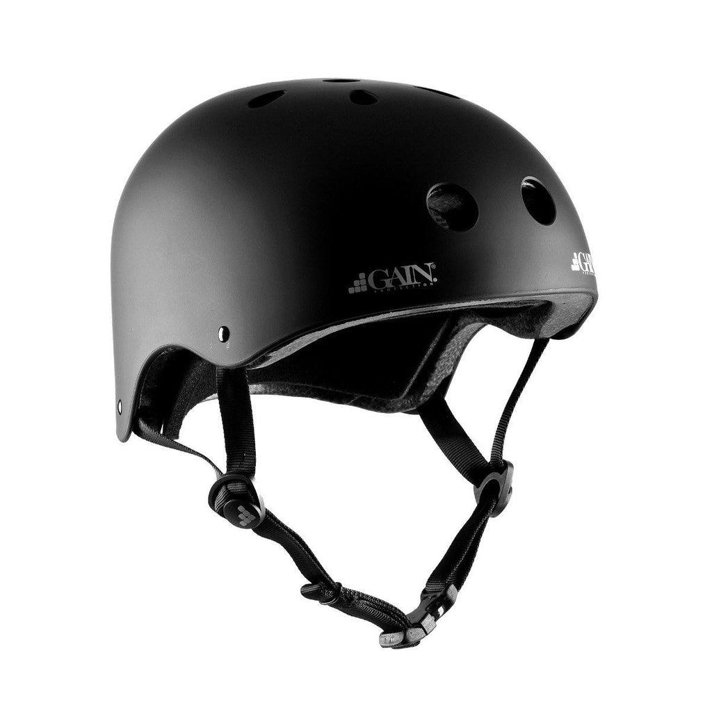 Pumpanickel Sports Shop Gain Protection Sleeper Helmet Certified action sports helmets Black