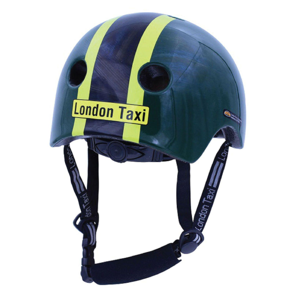 London Taxi Kids Helmet for 2 to 4 years. Safety gear to provide head protection. Adjustable straps & dial