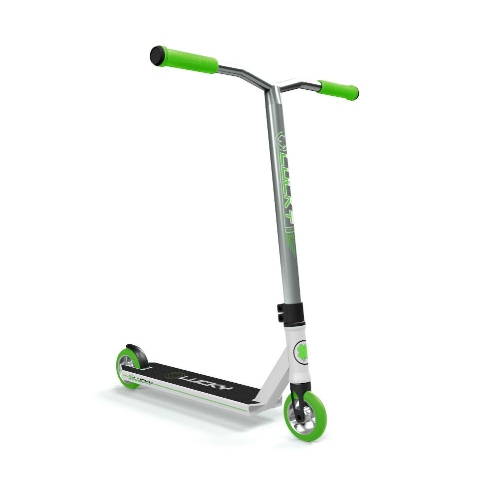 Lucky Crew Freestyle Scooter / Stunt Scooter / Trick Scooter - Sea Green White