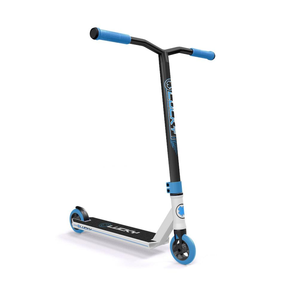 Lucky Crew Freestyle Scooter / Stunt Scooter / Trick Scooter - Sky Blue White