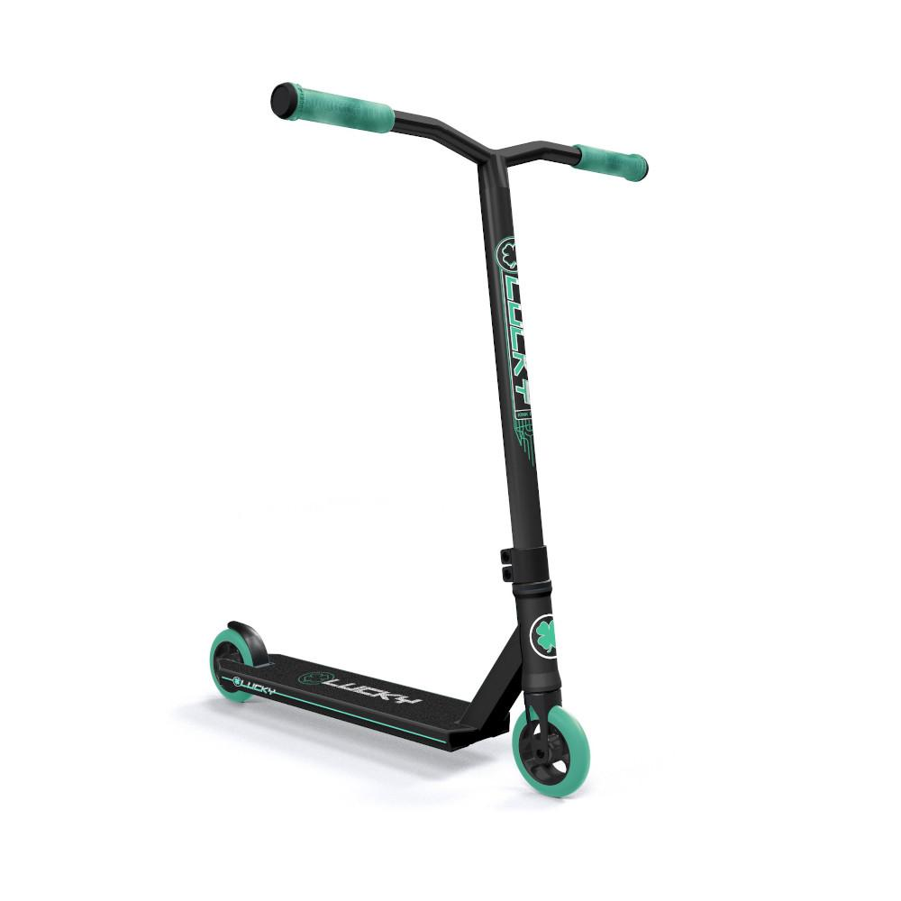 Lucky Crew Freestyle Scooter / Stunt Scooter / Trick Scooter - Ultramarine Green Black