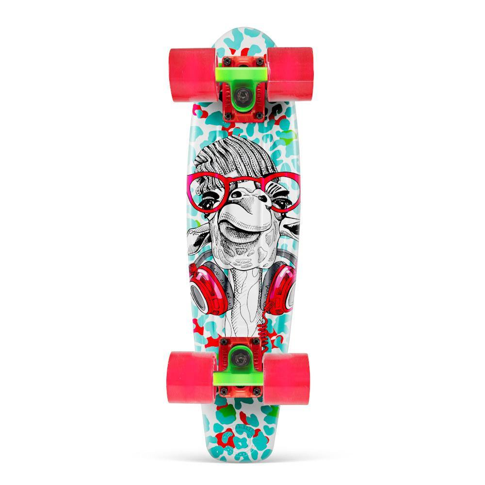 Pumpanickel Sports Shop Madd Gear Retro Skateboards Pennyboard Cruiser G-Raffe Green Red