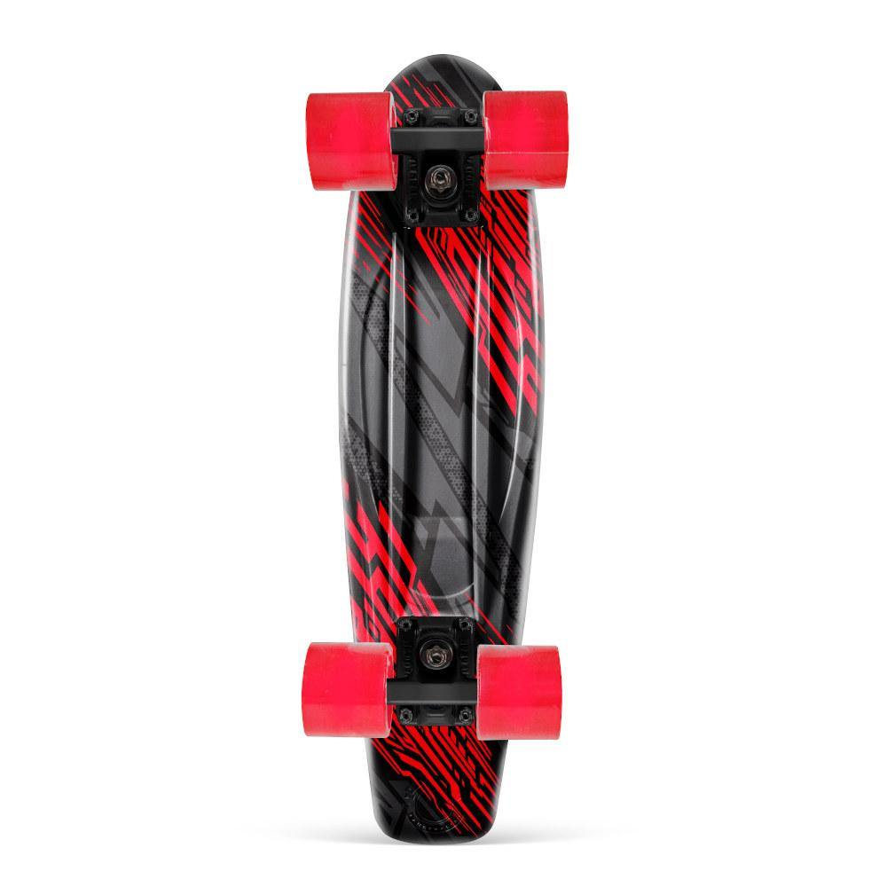 Pumpanickel Sports Shop Madd Gear Retro Skateboards Pennyboard Cruiser Racer Black Red