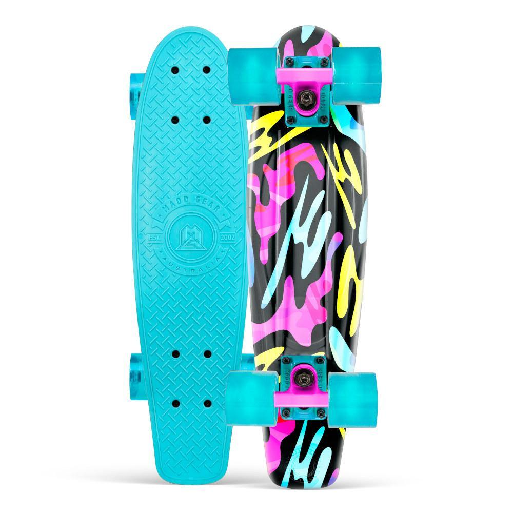 Pumpanickel Sports Shop Madd Gear Retro Skateboards Pennyboard Cruiser Rave Green