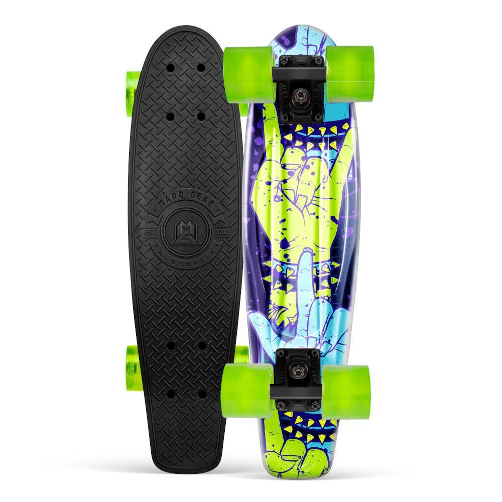 Pumpanickel Sports Shop Madd Gear Retro Skateboards Pennyboard Cruiser Rockin' Black Green