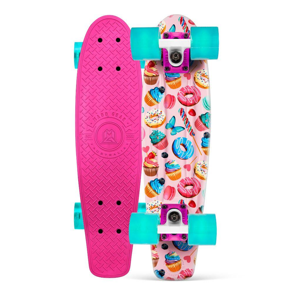 Pumpanickel Sports Shop Madd Gear Retro Skateboards Pennyboard Cruiser Sugar Rush Pink Green