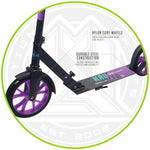 MaddGear Kruzer Foldable Height Adjustable 2-Wheels Kick Scooter