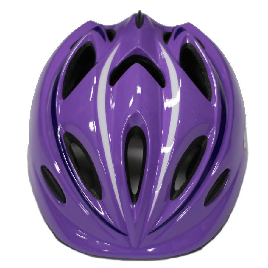 Pumpanickel Sports Shop Nexus kids helmet for kids when they are out skating, scooting or cycling. Sizes S & M for age 2 years & up. Purple
