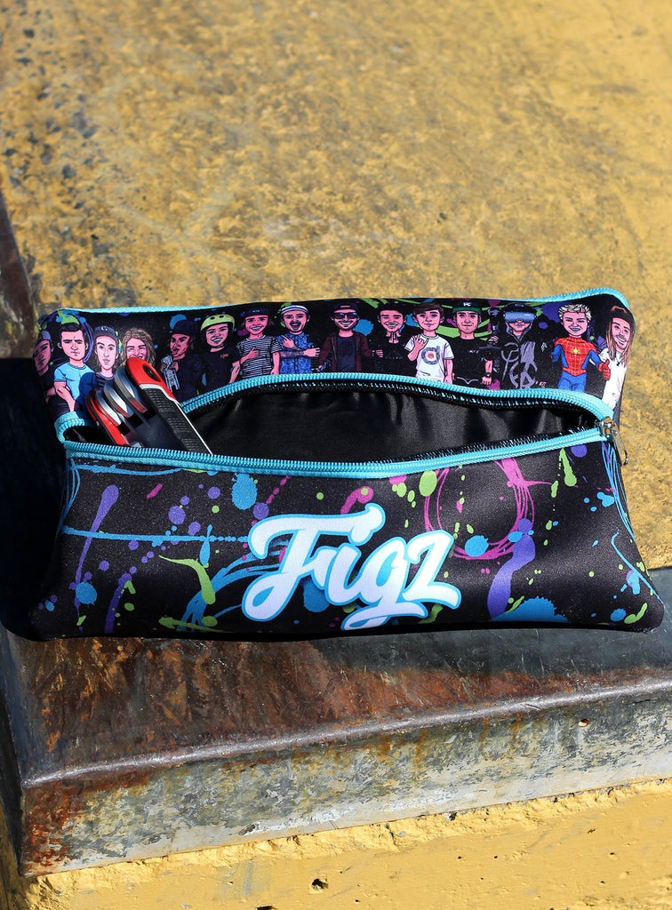 Figz Pencil Case Splatter XL