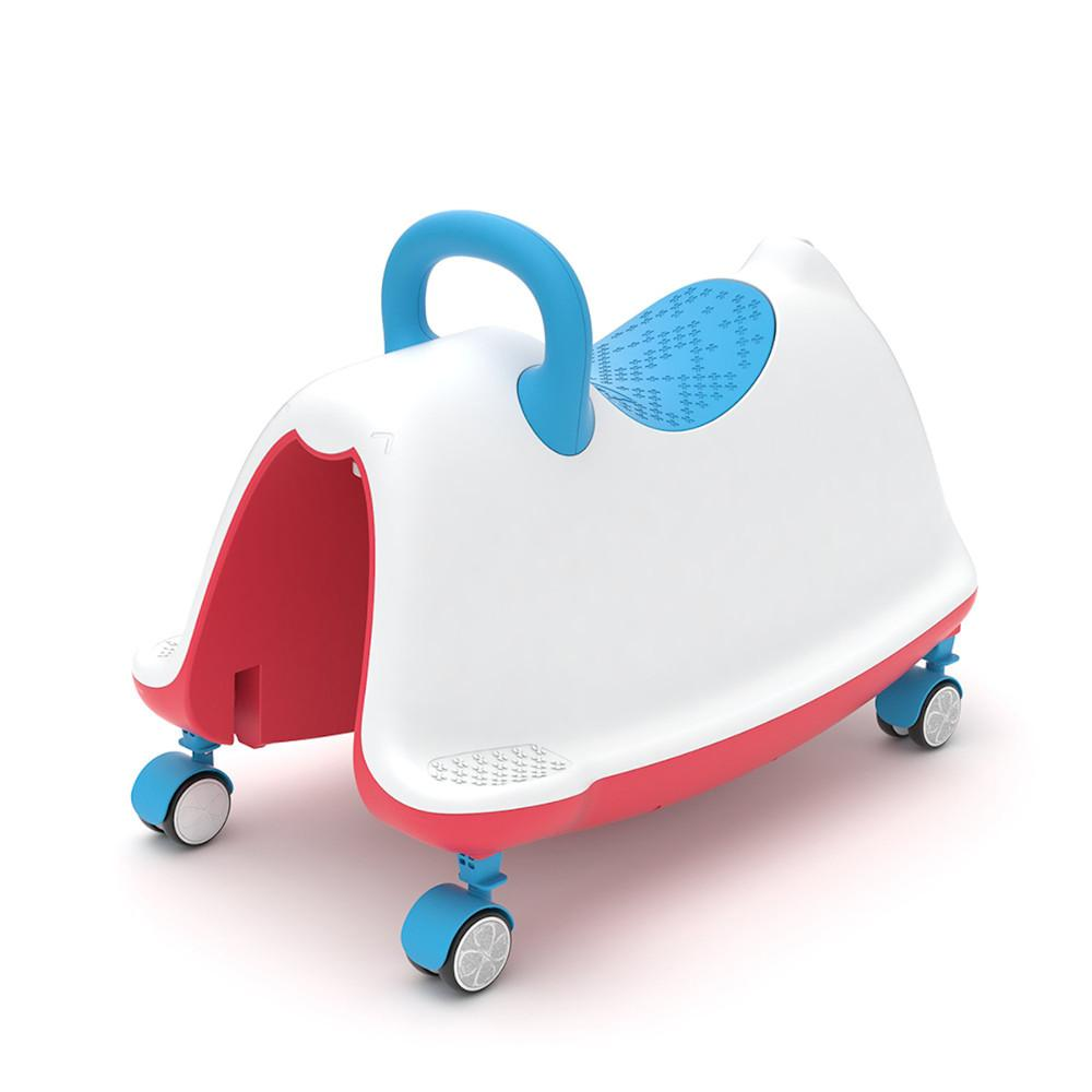 Pumpanickel Sports Shop Buy Chillafish Trackie 3-in-1 Walker Rocker Ride-On for age 1 to 5 Blue Red for Boys and Girls