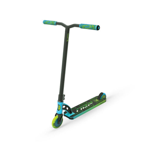 MGP VX9 Pro Freestyle Scooter Blue-Lime for 6+ years