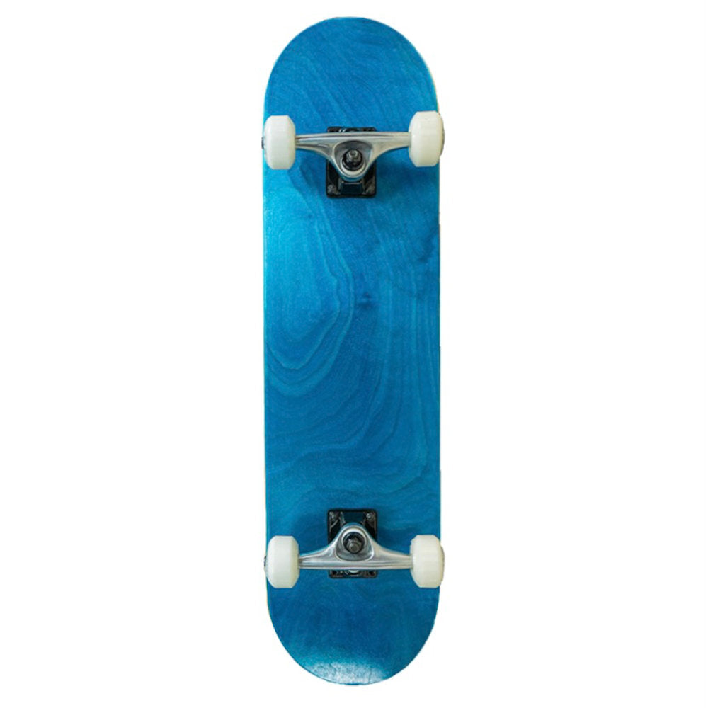"Pumpanickel Sports Shop Buy Yocaher Singapore Skateboard 7.5"" complete skateboard no graphic stained blue"