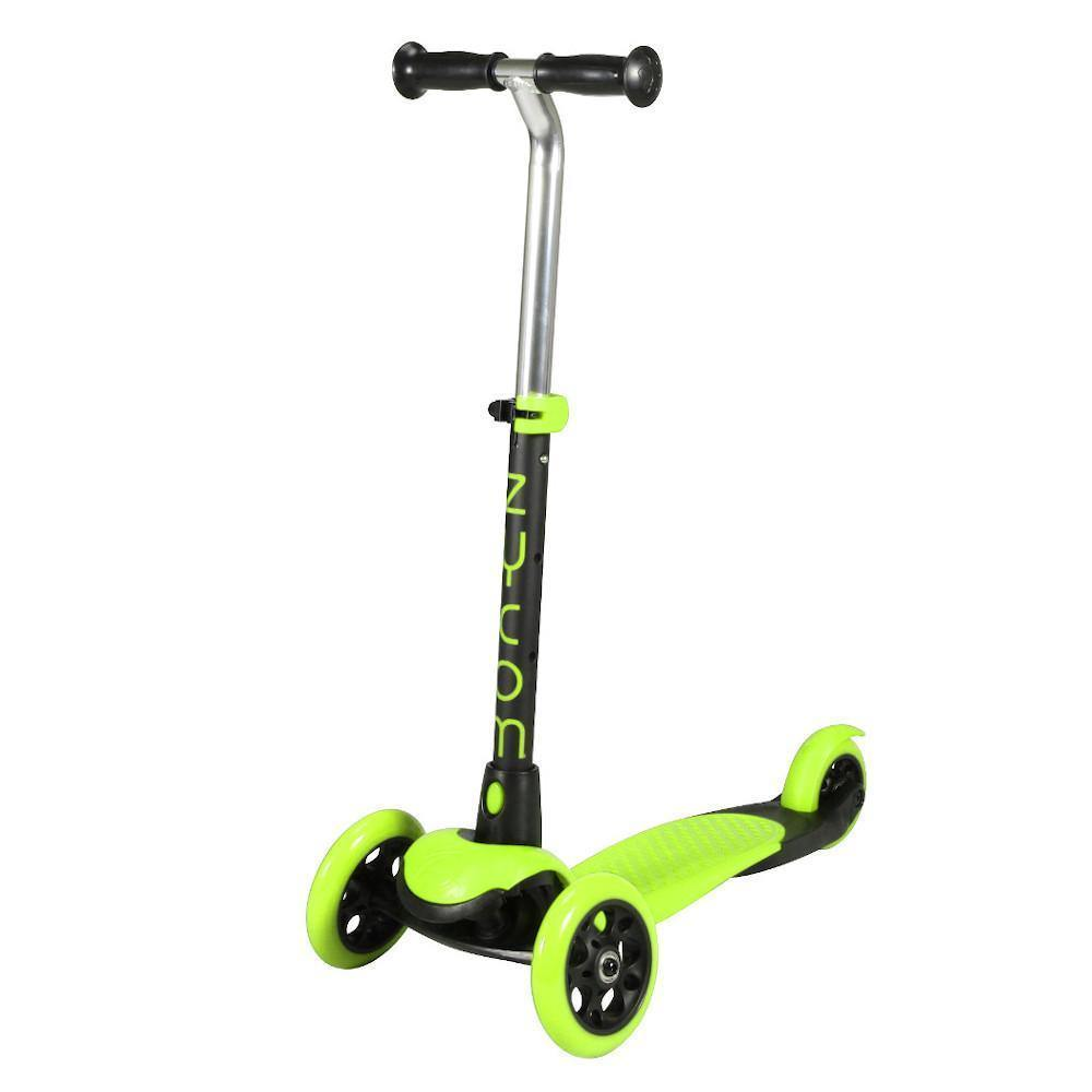 Pumpanickel Sports Shop Buy Zycom Zing 3 Wheel Kick Scooter for Kids. Green-Black for boys & girls, age 3 to 5 years