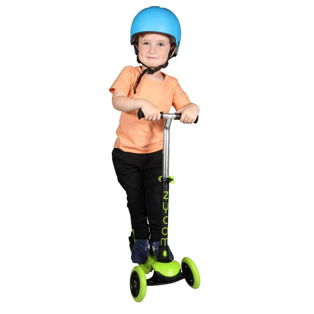 Pumpanickel Sports Shop Buy Zycom Zing 3 Wheel Kick Scooter for Kids. Green-Black for boys & girls, age 3 to 5 year