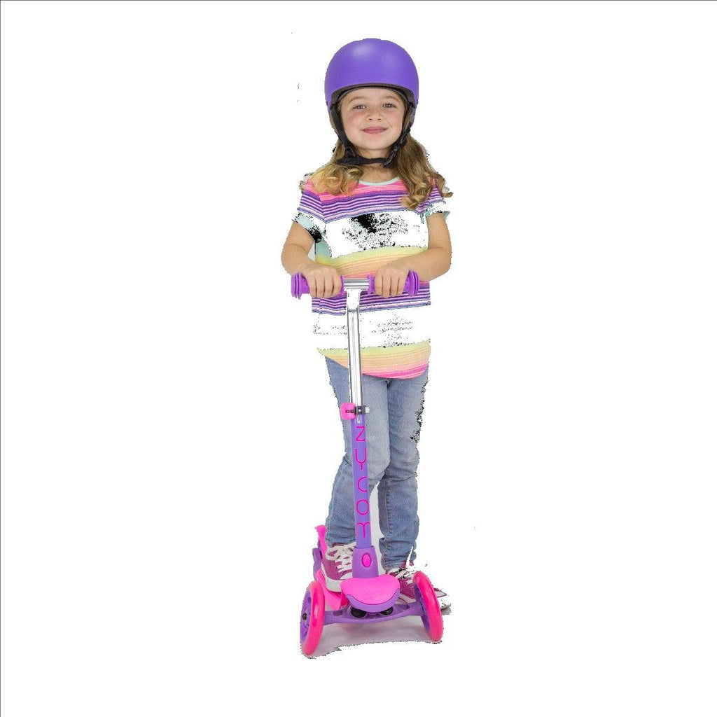 Pumpanickel Sports Shop Buy Zycom Zing 3 Wheel Kick Scooter for Kids. Pink-Purple for girls, age 3 to 5 years