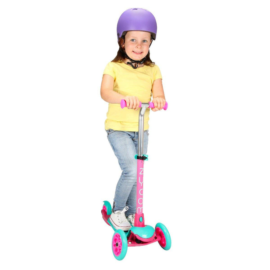 Pumpanickel Sports Shop Buy Zycom Zing 3 Wheel Kick Scooter for Kids. Teal for boys & girls, age 3 to 5 years