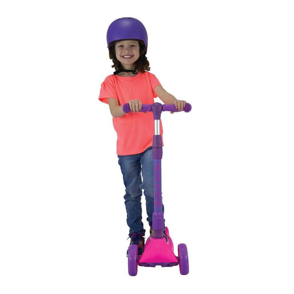 Pumpanickel Sports Shop Buy Zycom Zinger foldable kick scooter for kids age 5 to 8. Pink for girls