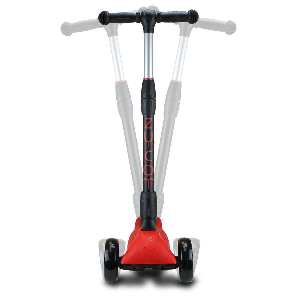 Pumpanickel Sports Shop Buy Zycom Zinger foldable kick scooter for kids age 5 to 8. Red for boys and girls. Pivot steering & self-righting technology
