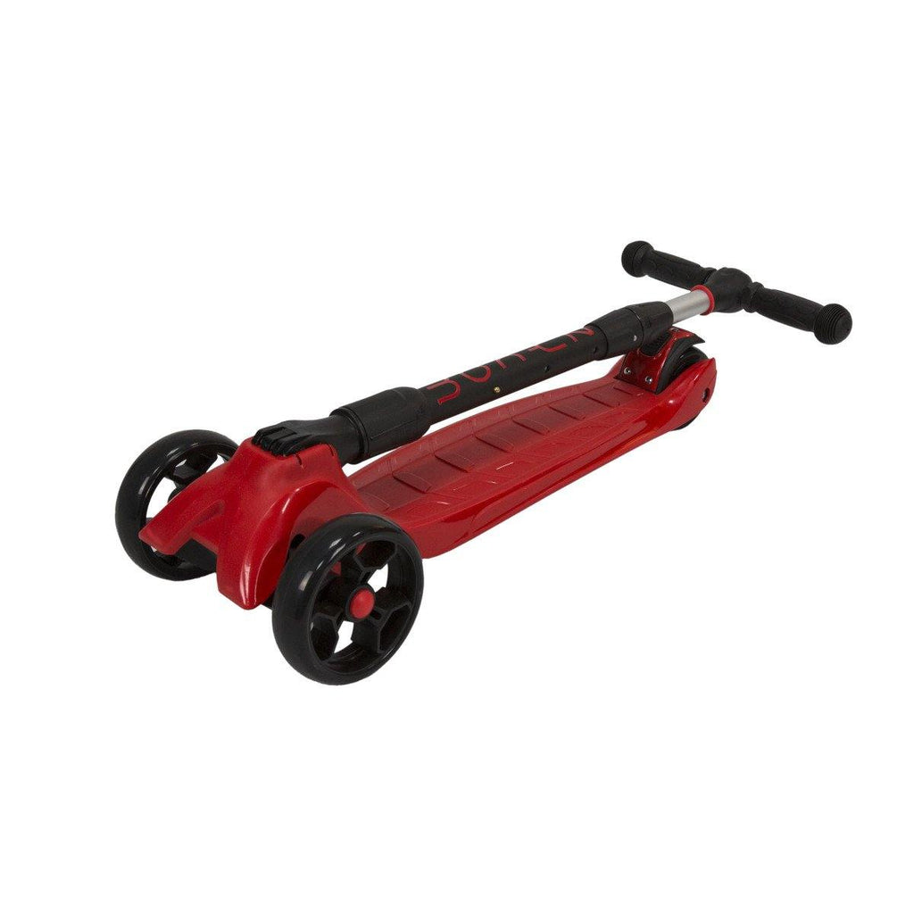 Pumpanickel Sports Shop Buy Zycom Zinger foldable kick scooter for kids age 5 to 8. Red for boys and girls. Foldable for easy storage & transport