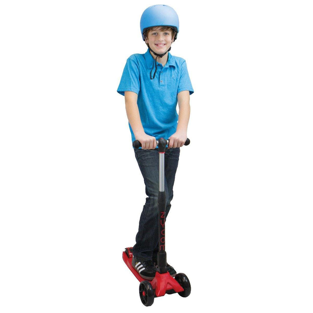 Pumpanickel Sports Shop Buy Zycom Zinger foldable kick scooter for kids age 5 to 8. Red for boys and girls. Height adjustable bar to grow with child