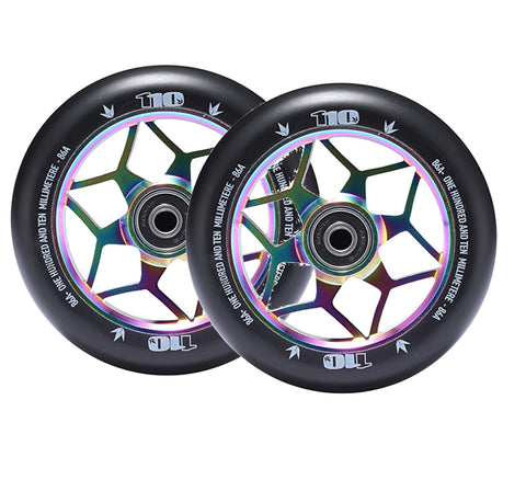Envy Diamond Wheels 110mm Oil Slick for freestyle stunt scooters