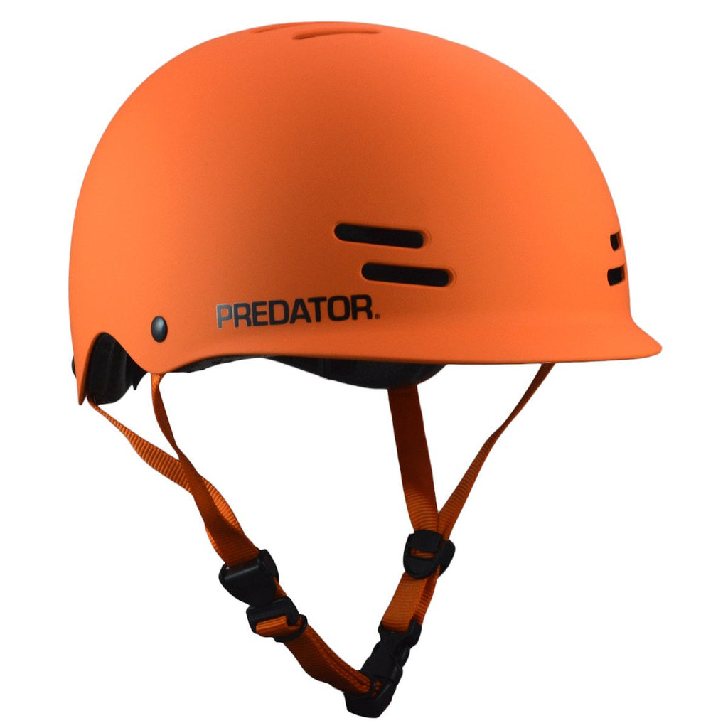 Pumpanickel Sport Shop Predator FR7 Helmet Certified Free-ride Skate Helmet Matte Orange