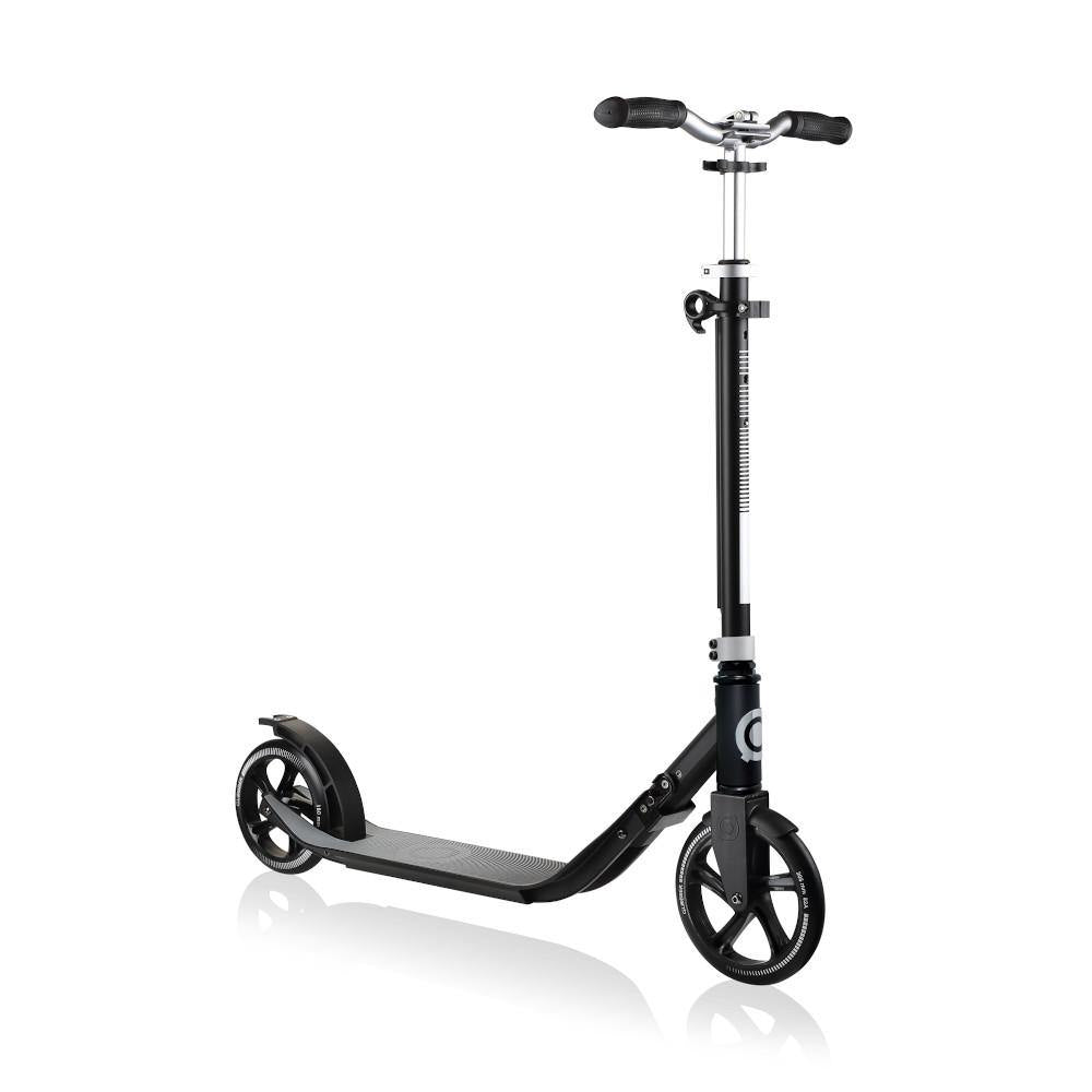 Shop Singapore Pumpanickel Sports Shop Buy Globber One NL205-180 Duo Foldable 2-Wheels Adult Kick Scooter - Lead Grey