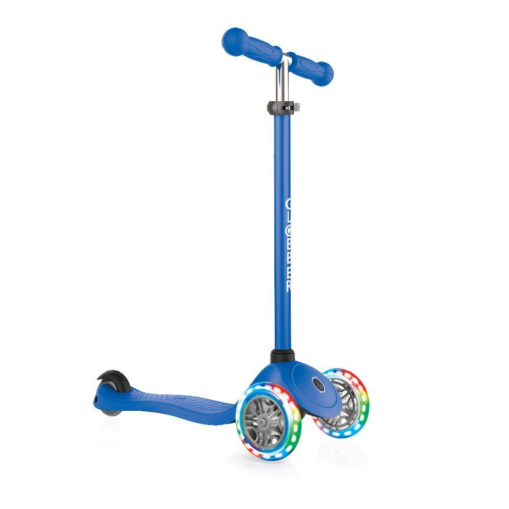 Shop Singapore Pumpanickel Sports Shop Buy Globber Primo Lights 3-Wheels Kids Scooter - Navy Blue