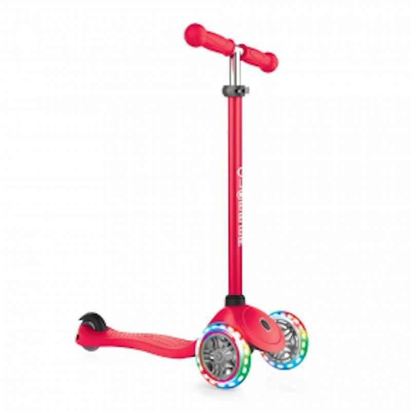 Shop Singapore Pumpanickel Sports Shop Buy Globber Primo Lights 3-Wheels Kids Scooter - Red
