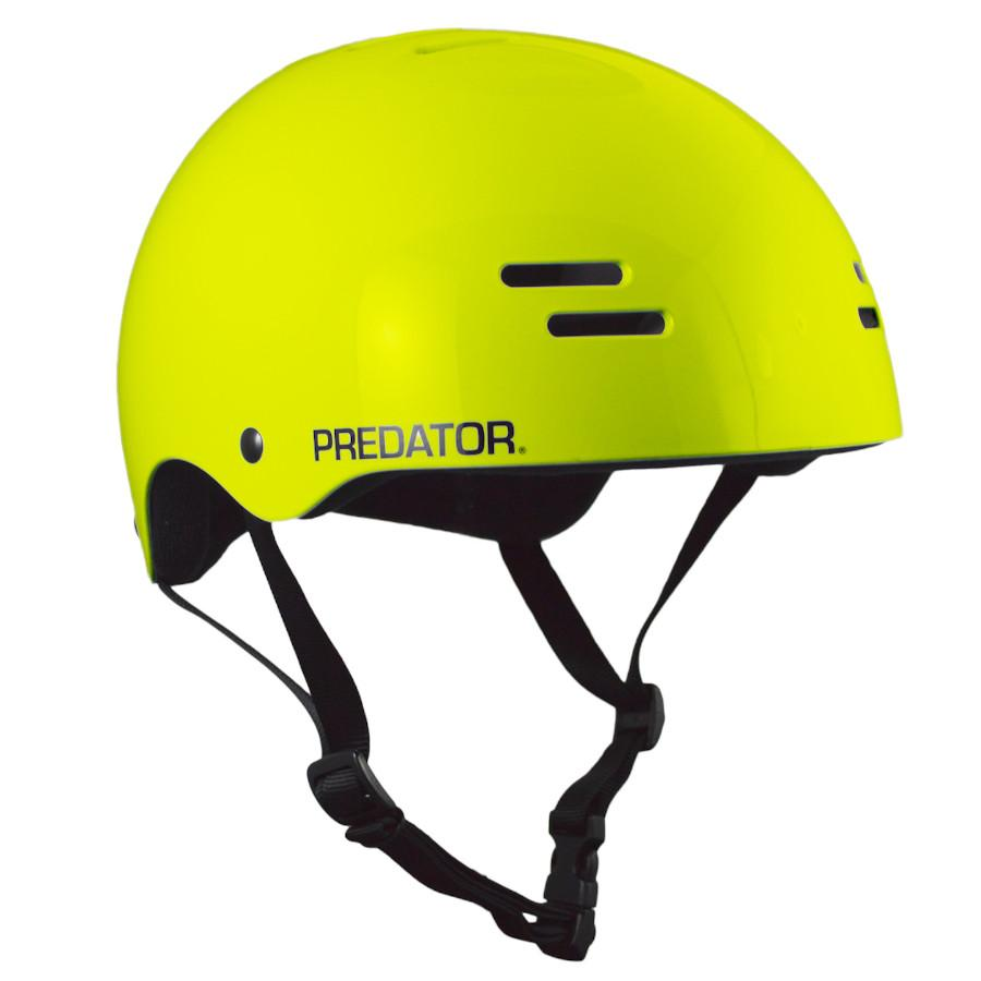 Pumpanickel Sports Shop Predator SK8 Soft Foam Skate Helmet Gloss Yellow