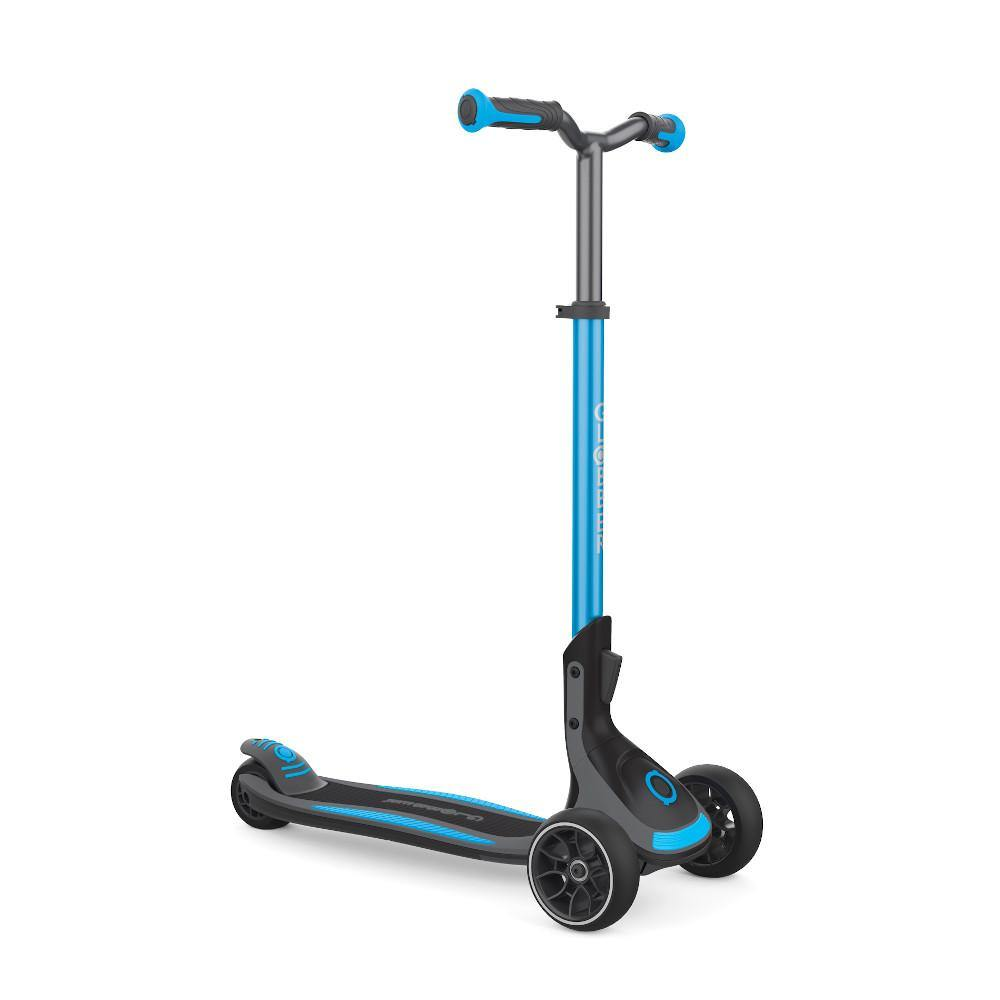 Shop Singapore Pumpanickel Sports Shop Buy Globber Ultimum Foldable 3-Wheels Kick Scooter - Sky Blue
