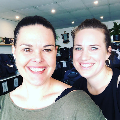 two females who own and run the store and education classes for the store