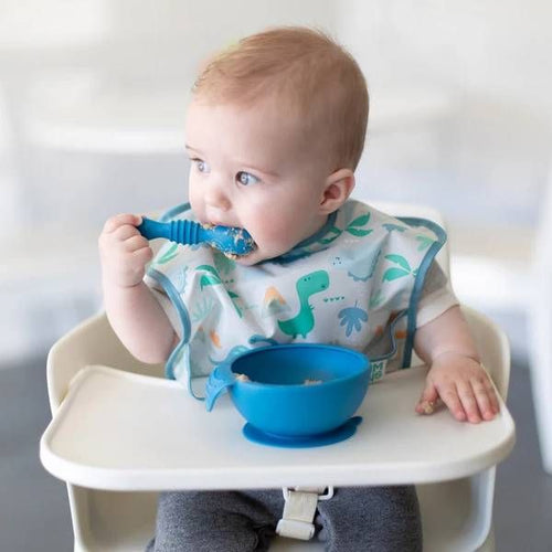Bumkins Silicone First Feeding Set