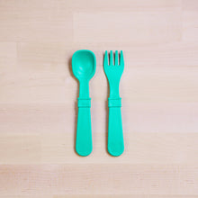 Re-Play Recycled Toddler Fork & Spoon