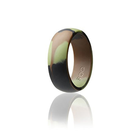 Silicone Camo Wedding Ring For Men