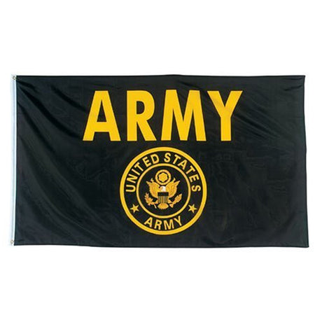US Army Flag with Crest